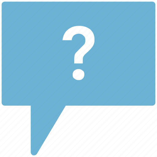 conversation question, faq, help button, question mark, speech bubble, unknown chat icon