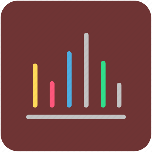 analytics, bar chart, bar graph, diagram, infographics icon