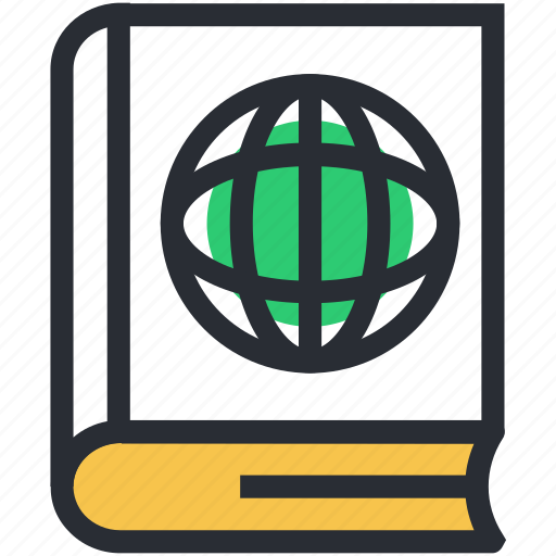 e docs, e learning, ebook, global education, online book icon