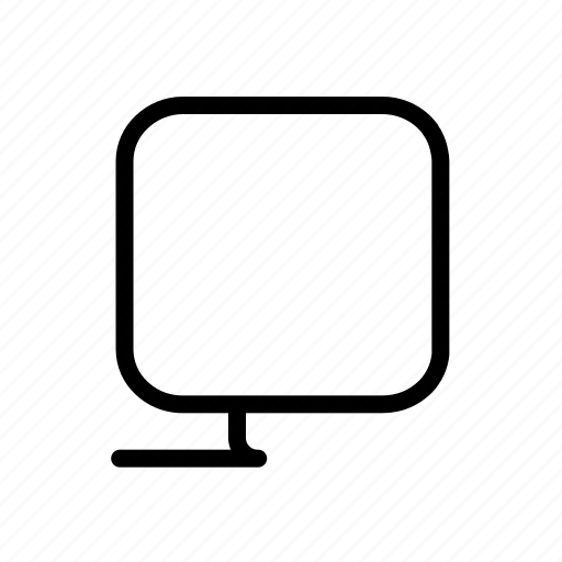 computer, device, monitor, screen, technology icon