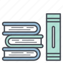 book, books, education, library, read, study icon