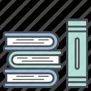 book, books, education, library, read, study icon icon