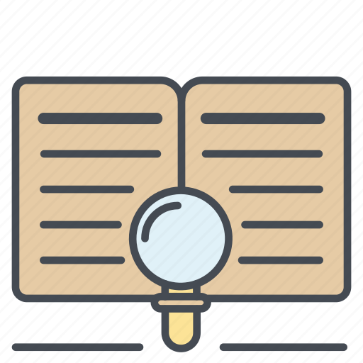 find, magnifier, magnifying, research, search, zoom icon icon