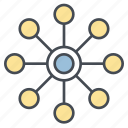 atom, chemistry, knowledge, physics, science icon icon