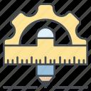 creative, design, equipment, shape, tool, tools icon icon