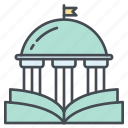 building, college, education, learning, school, university icon icon