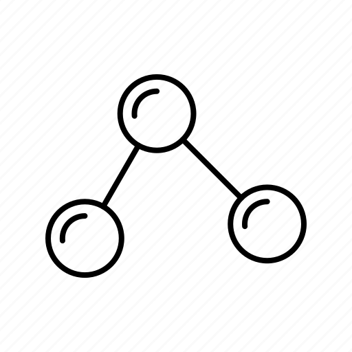 atom, connect, link, linked icon