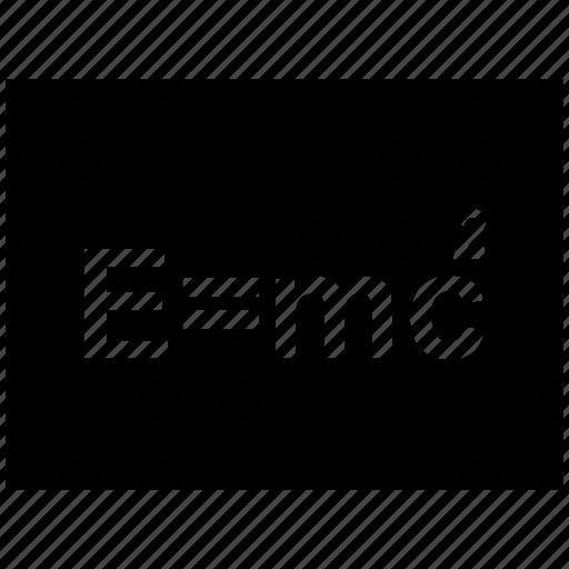 black board, formula, mathematics, maths, physics, science icon