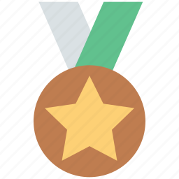 award medal, medal, prize, reward, star medal, winner icon