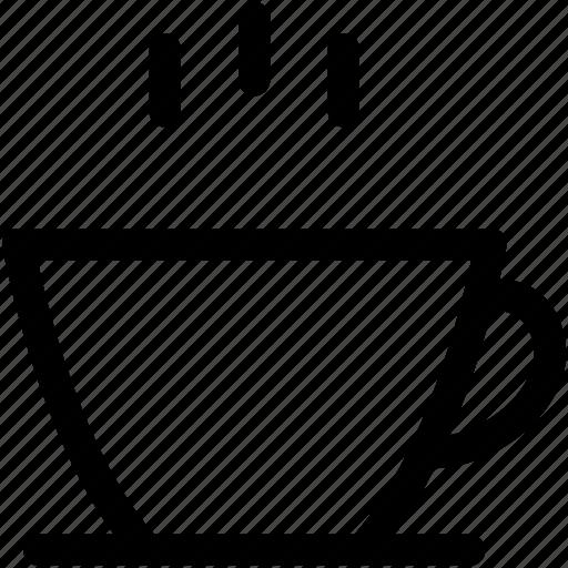 beverage, coffee cup, hot drink, hot tea, tea cup icon