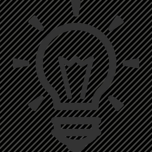 brainstorming, creativity, idea, light bulb icon