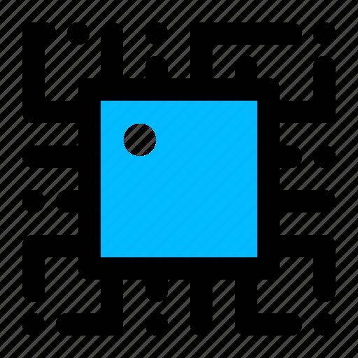chip, digital, electronics, microprocessor icon