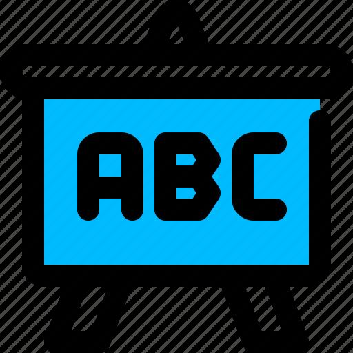 board, learning, presentation icon