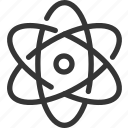 atom, line, mini, molecule