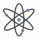 atom, atoms, education, school, science icon