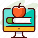 e learning, education, study icon