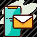 invite, message, sent icon