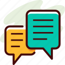 chat, education, message icon