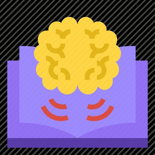 brain, idea, innovation, knowledge, mind icon