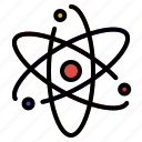 atom, nucleus, proton, science