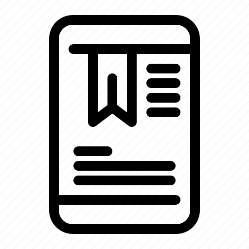 mobile, oneducation, tag icon