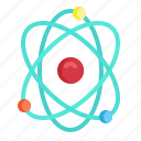 atom, chemistry, electron, nuclear, science icon