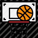 ball, basket, hoop, net, sport icon