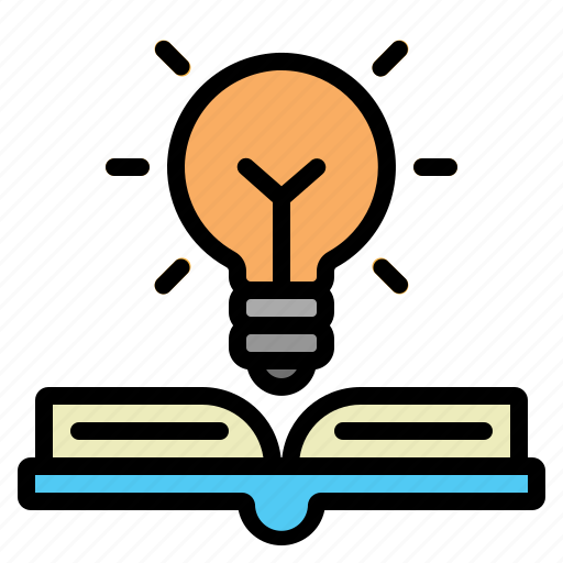 Book, bulb, education, idea, light icon - Download on Iconfinder