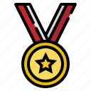 best, first, glory, medal, winner icon