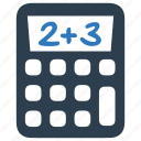 calculations, calculator, math, mathematics icon