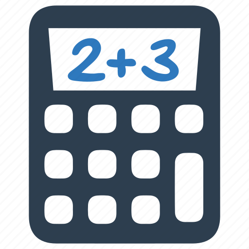 calculations, calculator, math, mathematics icon