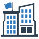 building, education building, school, school building icon