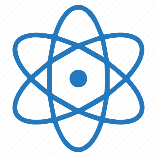 atom, chemistry, learning, molecular, physics, science icon