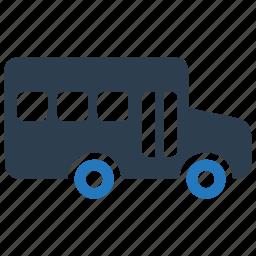 behicle, bus, school bus, transportation icon