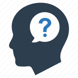 ask, faq, help, information, query, question icon