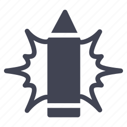 design, edit, illuminated, pen, pencil, write icon