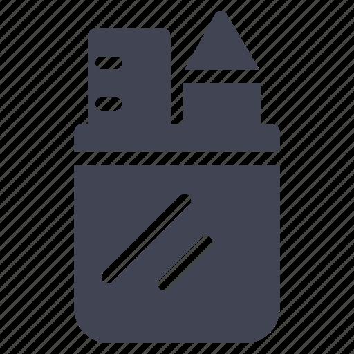design, education, pencil, ruler, tool, tools, write icon