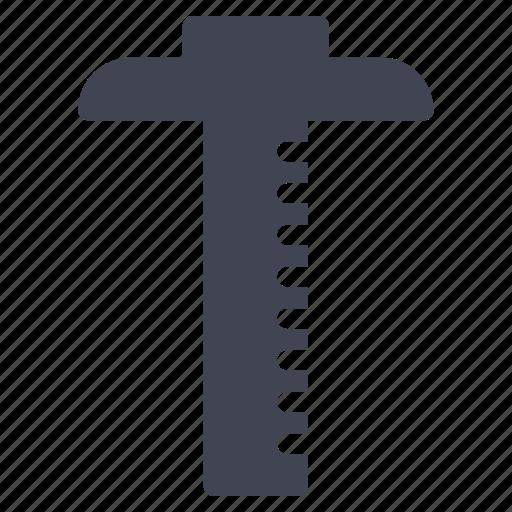 design, education, equipment, ruler, tool, tools icon
