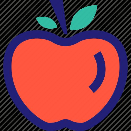 apple, fruit, juicy, staff, sweet, teacher icon