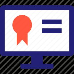 elearning, onlnie, safe, secured, web icon