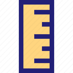 class, math, measure, ruler icon