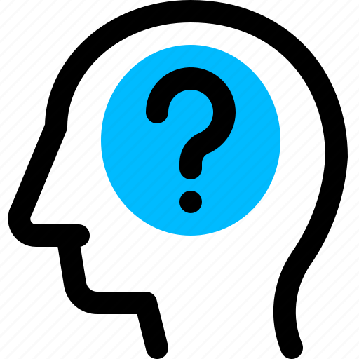 query, questioning, thinking icon