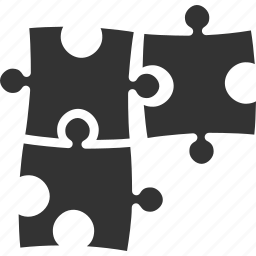 business, education, puzzle, solution, strategy icon