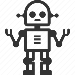 automatom, robot, science icon