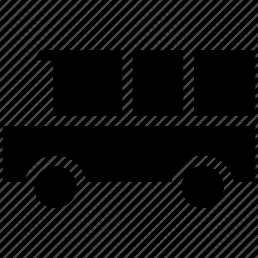 bus, public bus, school bus, transport, travel, vehicle icon