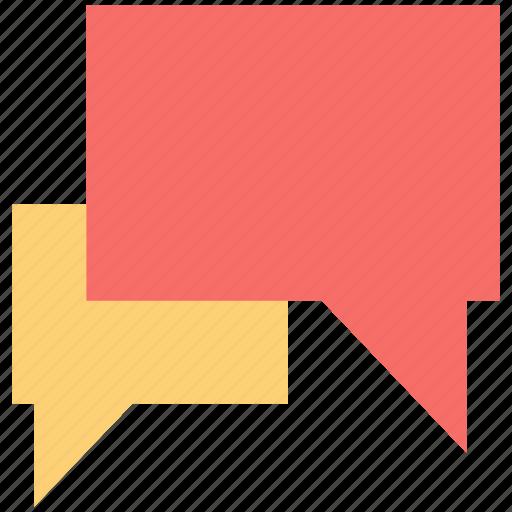 chat balloon, chatting, messaging, speech balloon, speech bubble icon