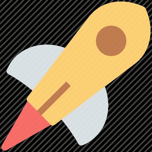 missile, rocket, rocket launch, rocket ship, space rocket icon
