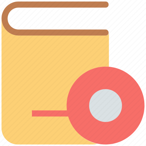 book, cd, e learning, online study icon