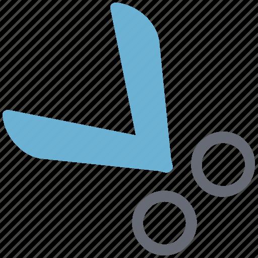 cutter, cutting tool, paper scissor, scissor, shear, trimming icon