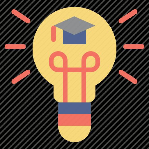 Bulb, idea, illumination, invention, light, success icon - Download on Iconfinder